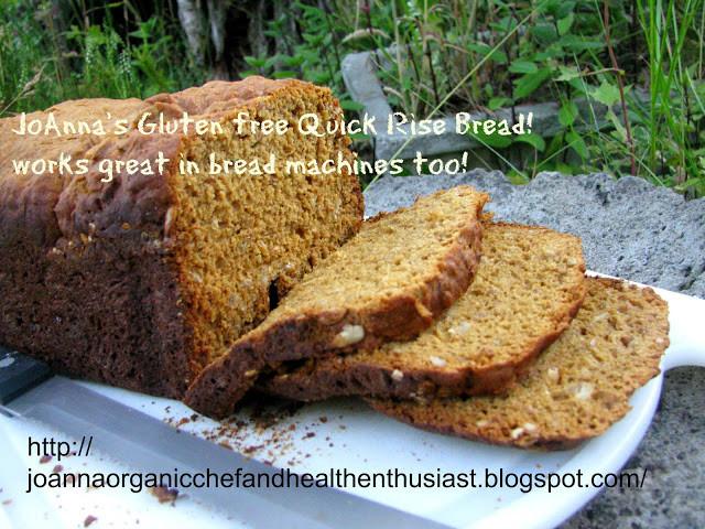 Gluten Free Bread Options  JoAnna GlutenFree Chef and Health Enthusiast JoAnna's