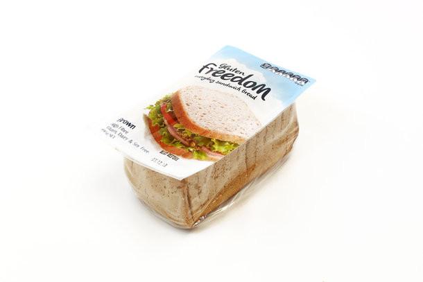 Gluten Free Bread Options  Gluten Freedom Everyday Sandwich Bread Brown giving more