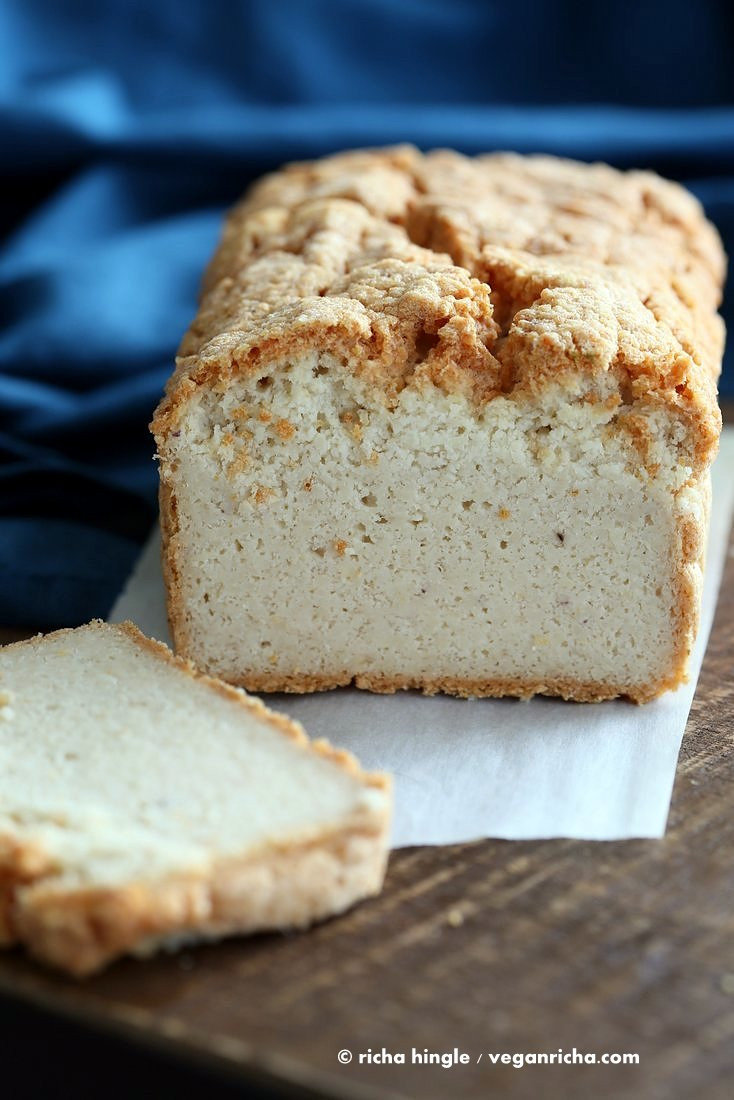 Gluten Free Bread Recipe With Yeast  Lentil Bread Gluten free Yeast free Vegan Sandwich Bread