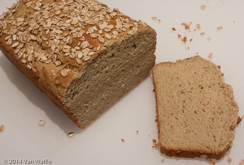Gluten Free Bread Recipe With Yeast  oat bread recipe gluten free yeast free