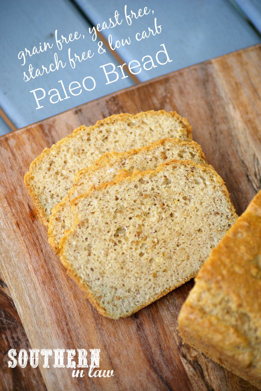 Gluten Free Bread Recipe With Yeast  Southern In Law Recipe Starch Yeast & Grain Free Paleo