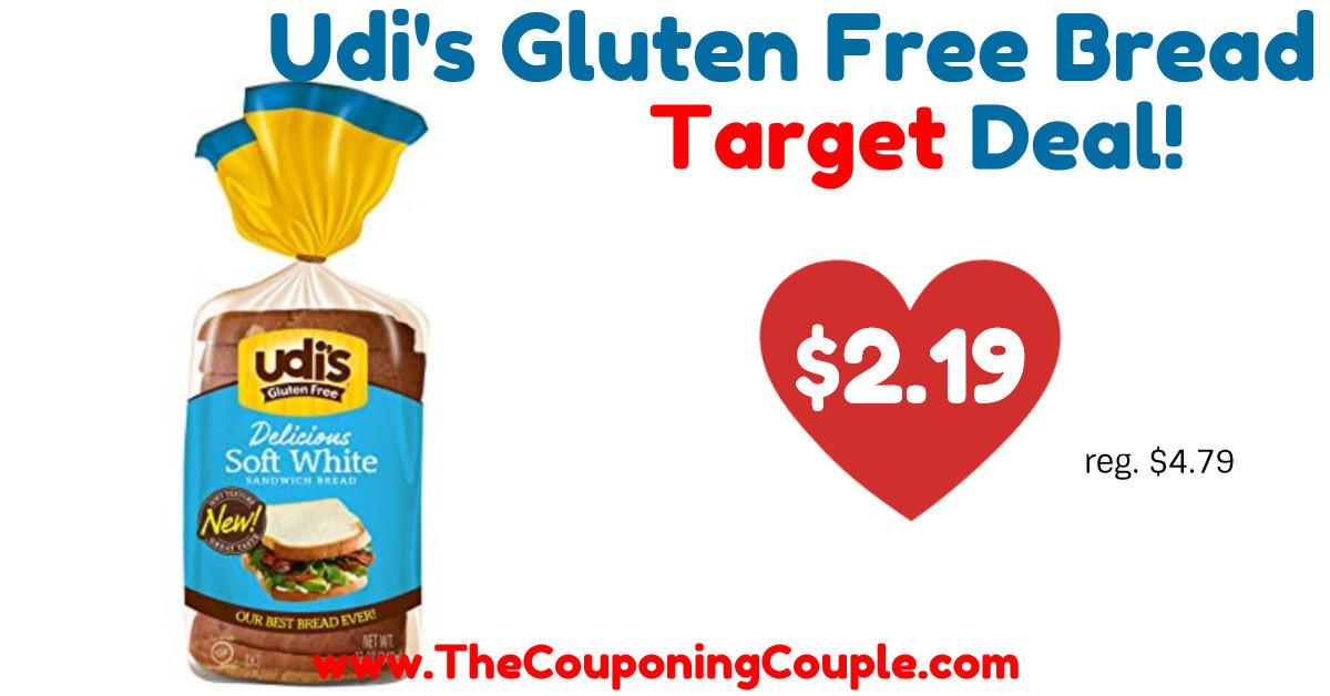 Gluten Free Bread Target  Quick Deal on Udi s Gluten Free Bread Tar