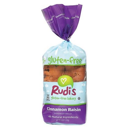 Gluten Free Bread Target  Ruid s Gluten Free Soy Free & Dairy Free Cinnamon Raisin