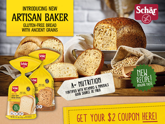 Gluten Free Bread Target  Schar Gluten Free Bread – Get A $2 Coupon
