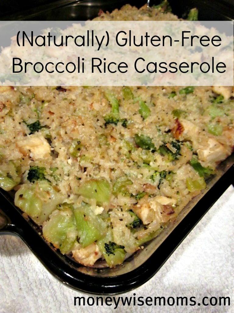 Gluten Free Broccoli Rice Casserole  Broccoli Rice Casserole Naturally Gluten Free