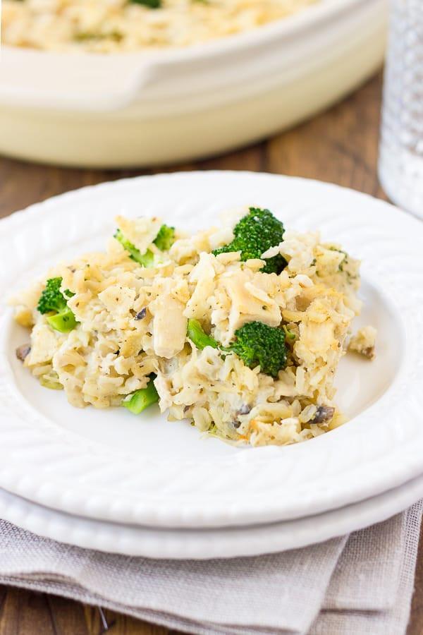 Gluten Free Broccoli Rice Casserole  Dairy Free Chicken Broccoli & Rice Casserole Gluten Free