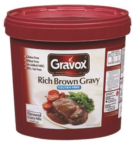 Gluten Free Brown Gravy  Gravox Rich Brown Gravy Mix 1kg Gluten Free