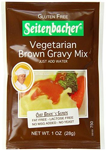 Gluten Free Brown Gravy  Seitenbacher Gluten Free Ve arian Brown Gravy Mix 1