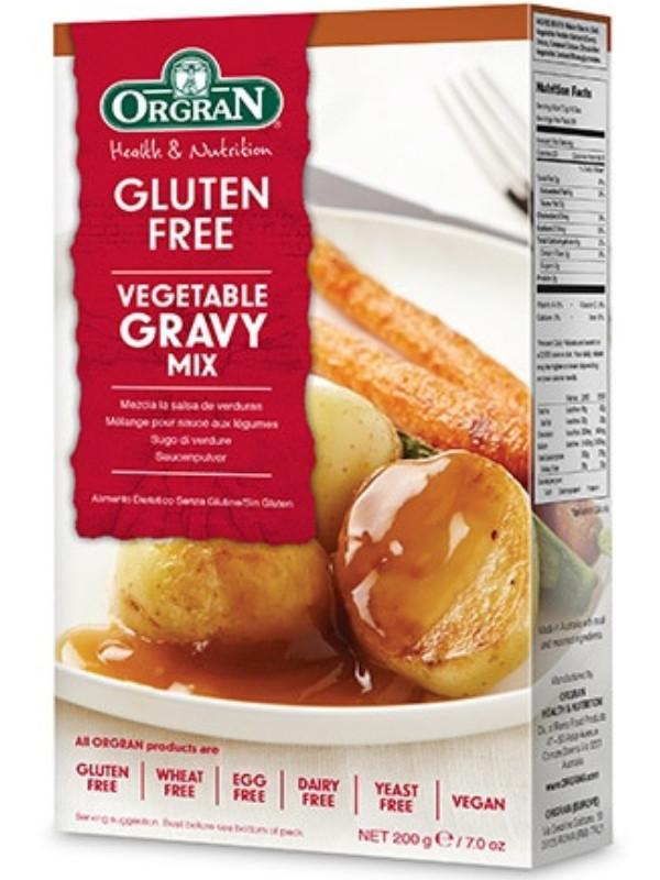 Gluten Free Brown Gravy  Gravy Mix 200g Gluten Free Orgran HealthySupplies