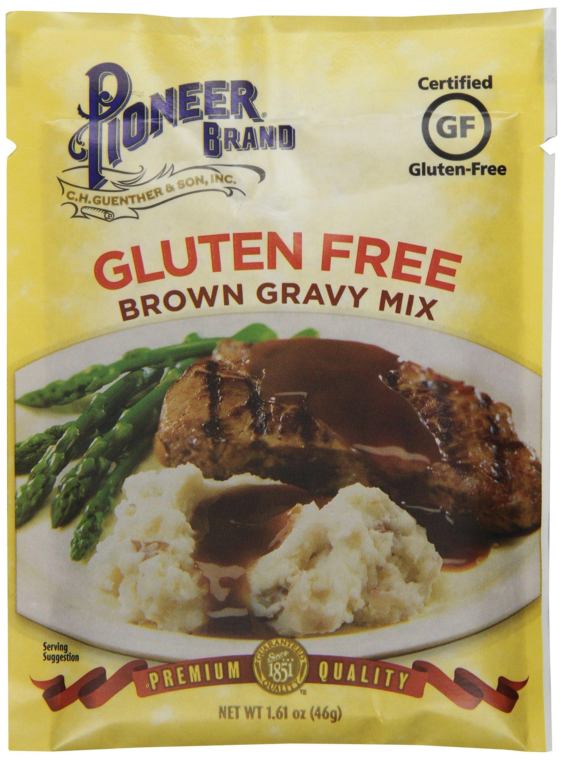 Gluten Free Brown Gravy  Amazon Pioneer Gluten Free Country Gravy 2 75 Ounce