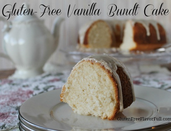 Gluten Free Bundt Cake Recipes  Gluten Free Vanilla Bundt Cake Recipe with Vanilla Bean Glaze