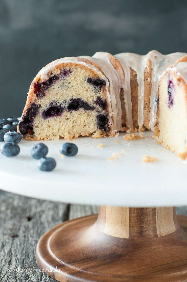 Gluten Free Bundt Cake Recipes  gluten free blueberry lemon bundt cake recipe 7 Allergy