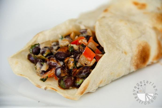 Gluten Free Burritos  Special Black Bean Burritos w Veggies vegan gluten free