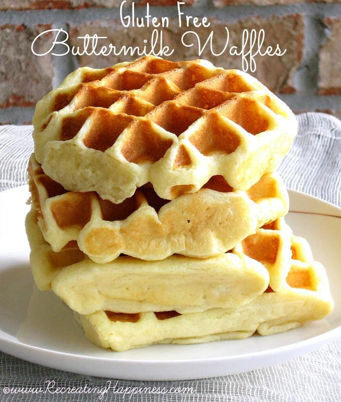 Gluten Free Buttermilk Recipes  Buttermilk Waffles