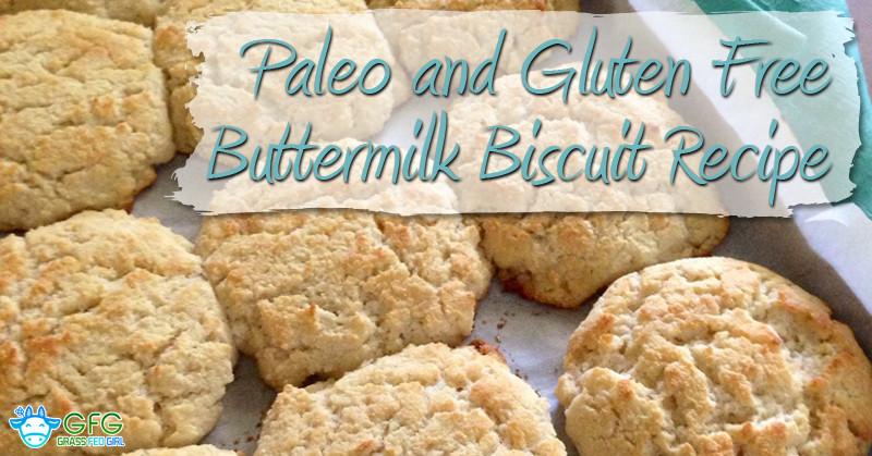 Gluten Free Buttermilk Recipes  Paleo and Gluten Free Buttermilk Biscuit Recipe