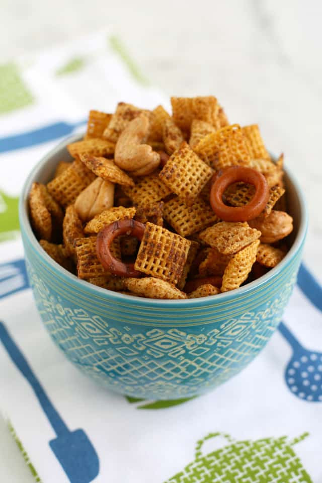 Gluten Free Chex Mix Recipes  Vegan Chex Mix The Pretty Bee