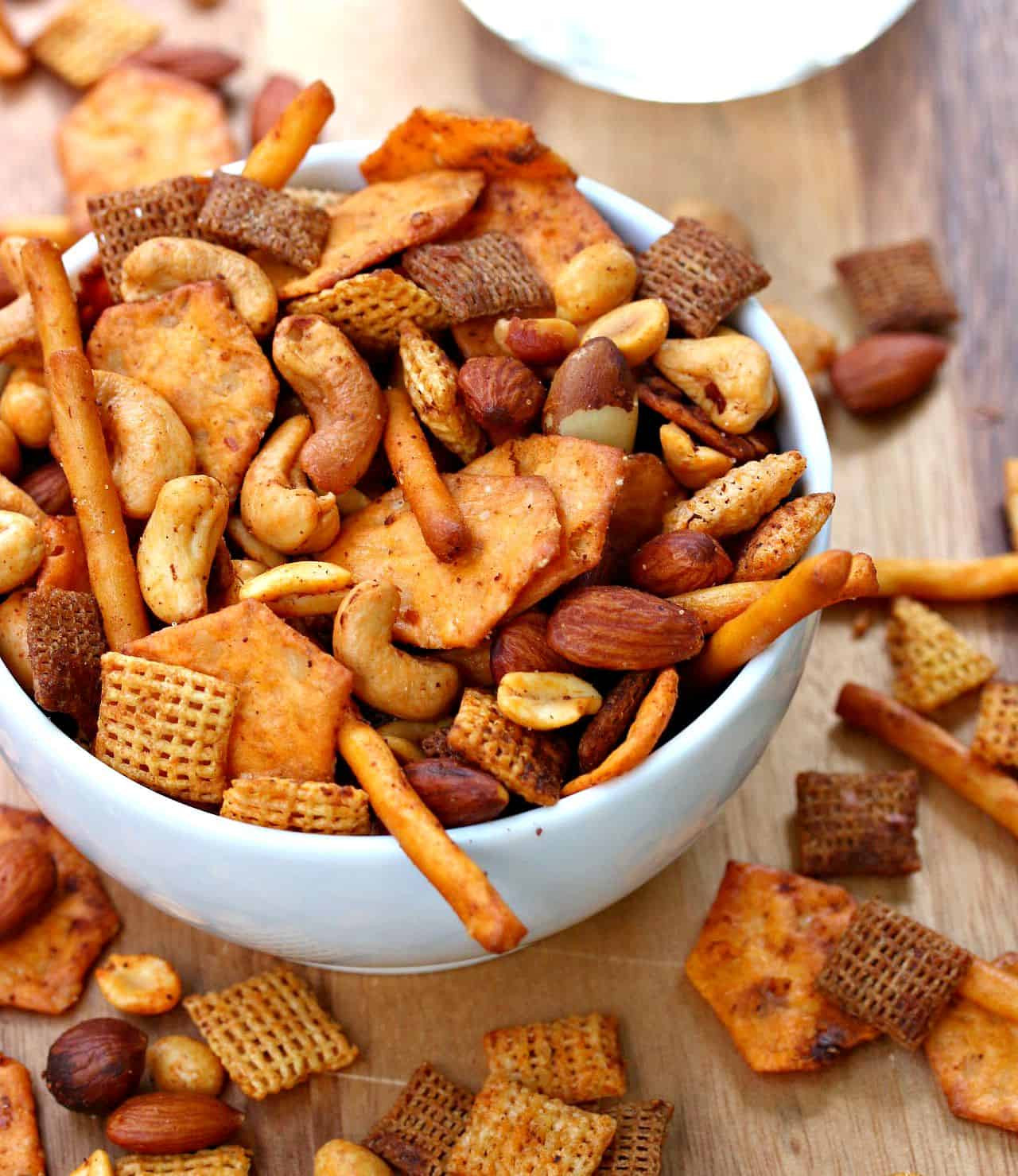 Gluten Free Chex Mix Recipes  Spicy Chex Mix The Cozy Cook
