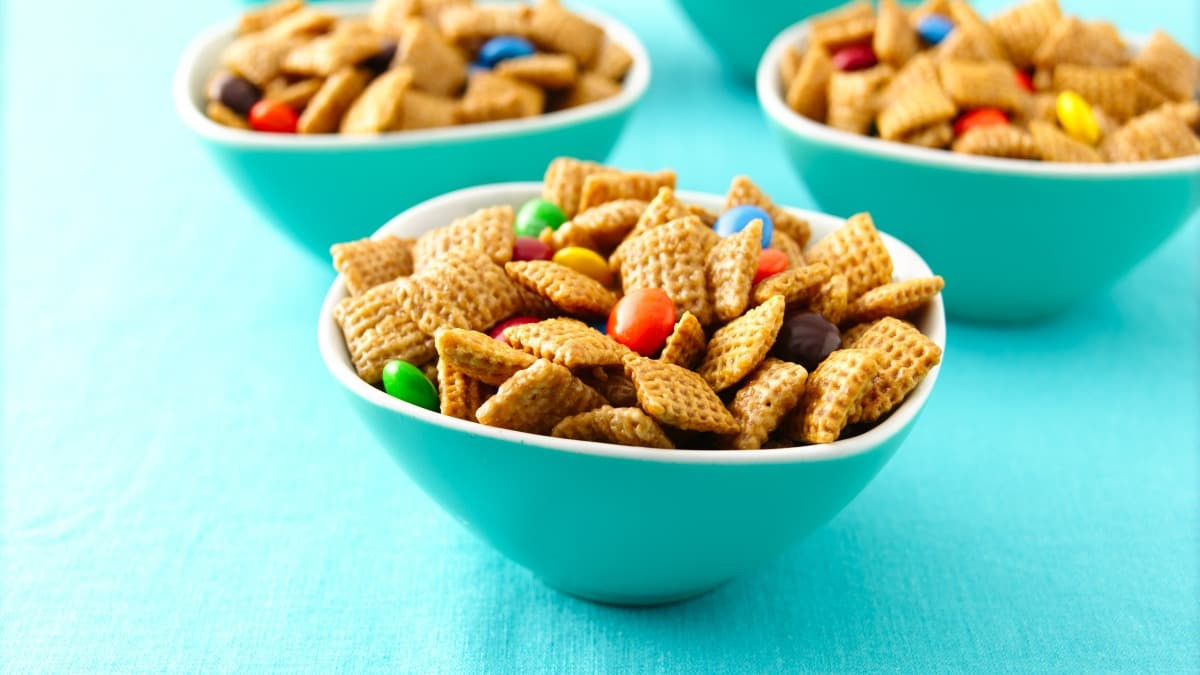 Gluten Free Chex Mix Recipes  Caramel Crispy Chex Mix Gluten Free Recipe