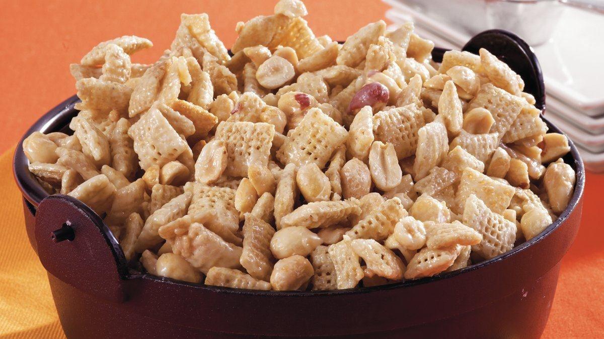 Gluten Free Chex Recipes  Purely Peanuts Chex Mix Recipe Gluten Free Recipe
