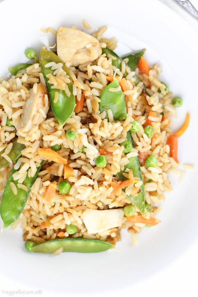 Gluten Free Chicken Fried Rice  Gluten Free Chicken Fried Rice Veggie Balance