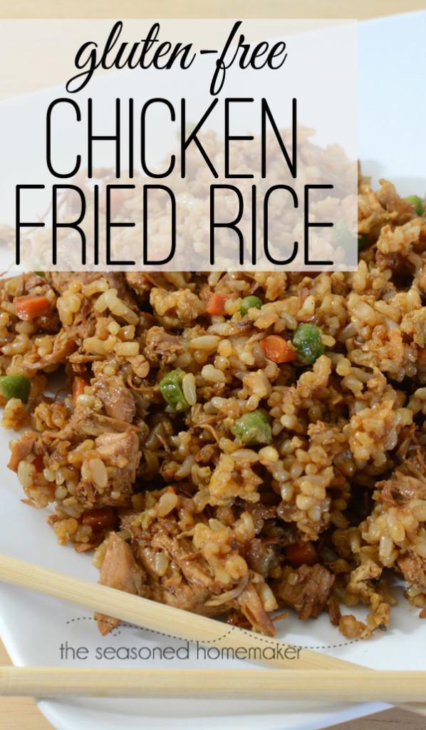 Gluten Free Chicken Fried Rice  The Seasoned HomemakerGluten Free Chicken Fried Rice