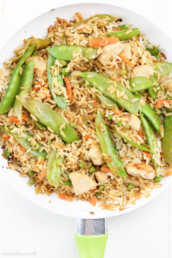 Gluten Free Chicken Fried Rice  Chicken Fried Rice Gluten Free Dairy Free Gluten Free