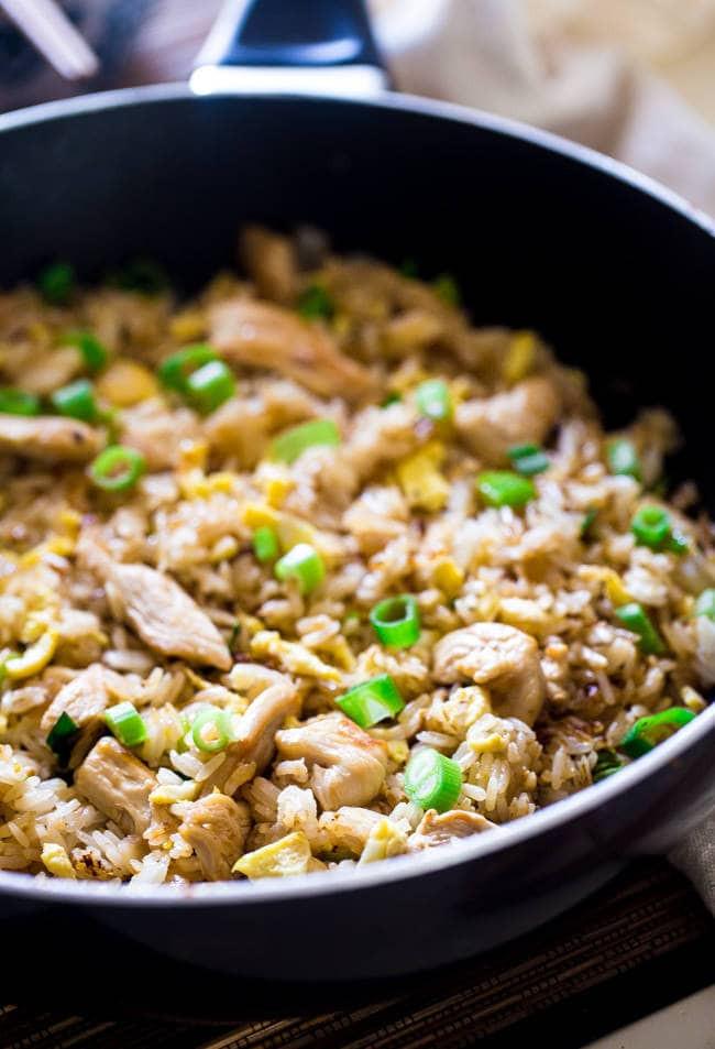Gluten Free Chicken Fried Rice  Easy Chicken Fried Rice Gluten Free