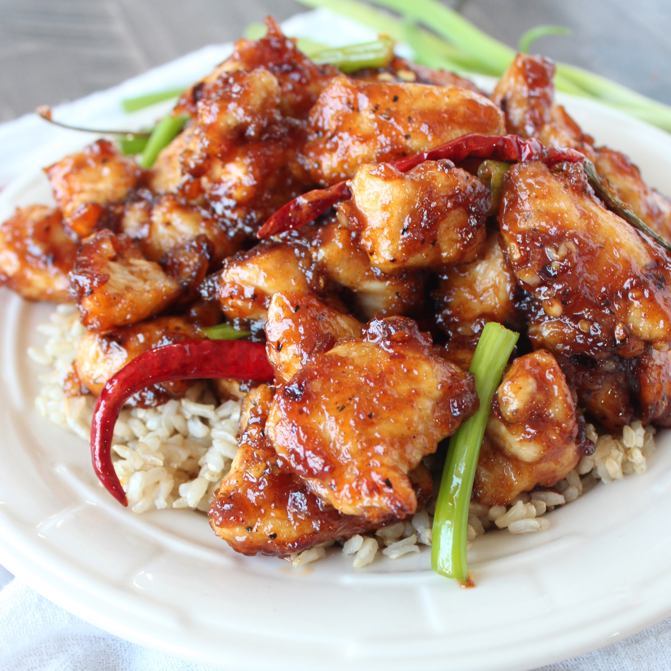 Gluten Free Chinese Food Recipes  Gluten Free General Tso s Chicken Recipe