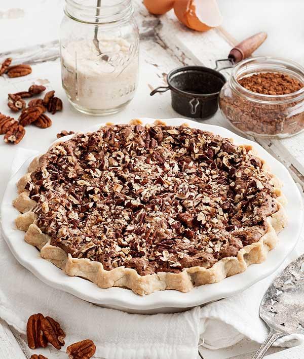 Gluten Free Chocolate Pecan Pie  Gluten Free Chocolate Pecan Chess Pie Recipe