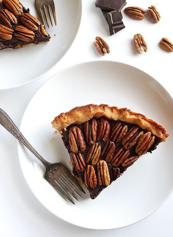 Gluten Free Chocolate Pecan Pie  Gluten Free Chocolate Pecan Pie Robust Recipes