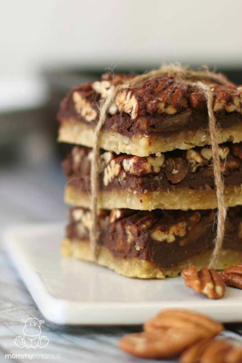 Gluten Free Chocolate Pecan Pie  Chocolate Maple Pecan Pie Bars Paleo Gluten Free