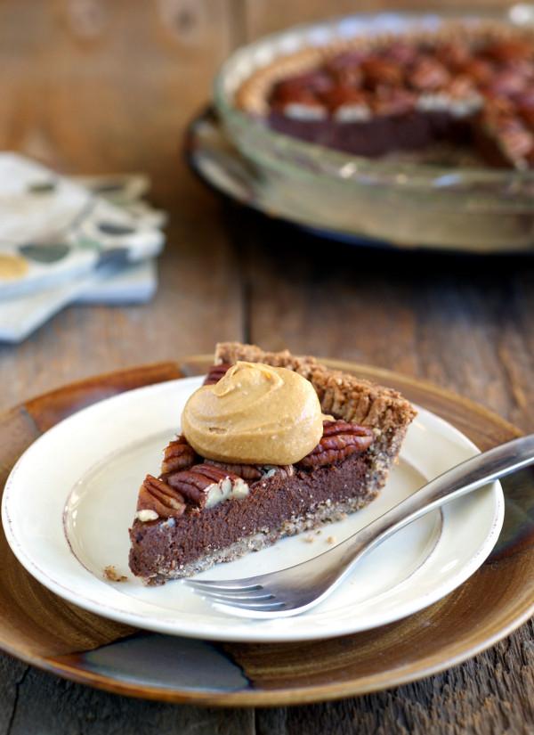 Gluten Free Chocolate Pecan Pie  Flash in the Pan Caramel Whip