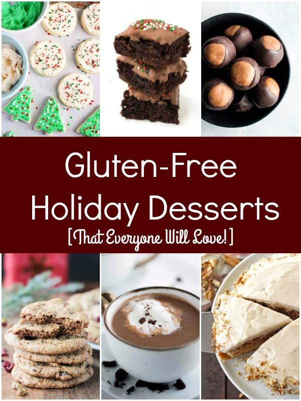 Gluten Free Christmas Desserts  Gluten Free Holiday Desserts That Everyone Will Love