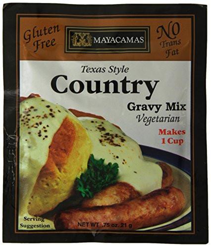 Gluten Free Country Gravy  Mayacamas Country Gravy Mix 0 75 Ounce Pack of 12