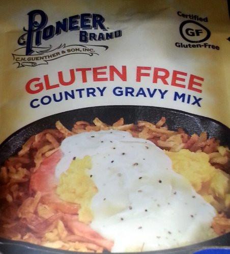 Gluten Free Country Gravy  Amazon Pioneer Brand Gluten Free Brown Gravy Mix 1