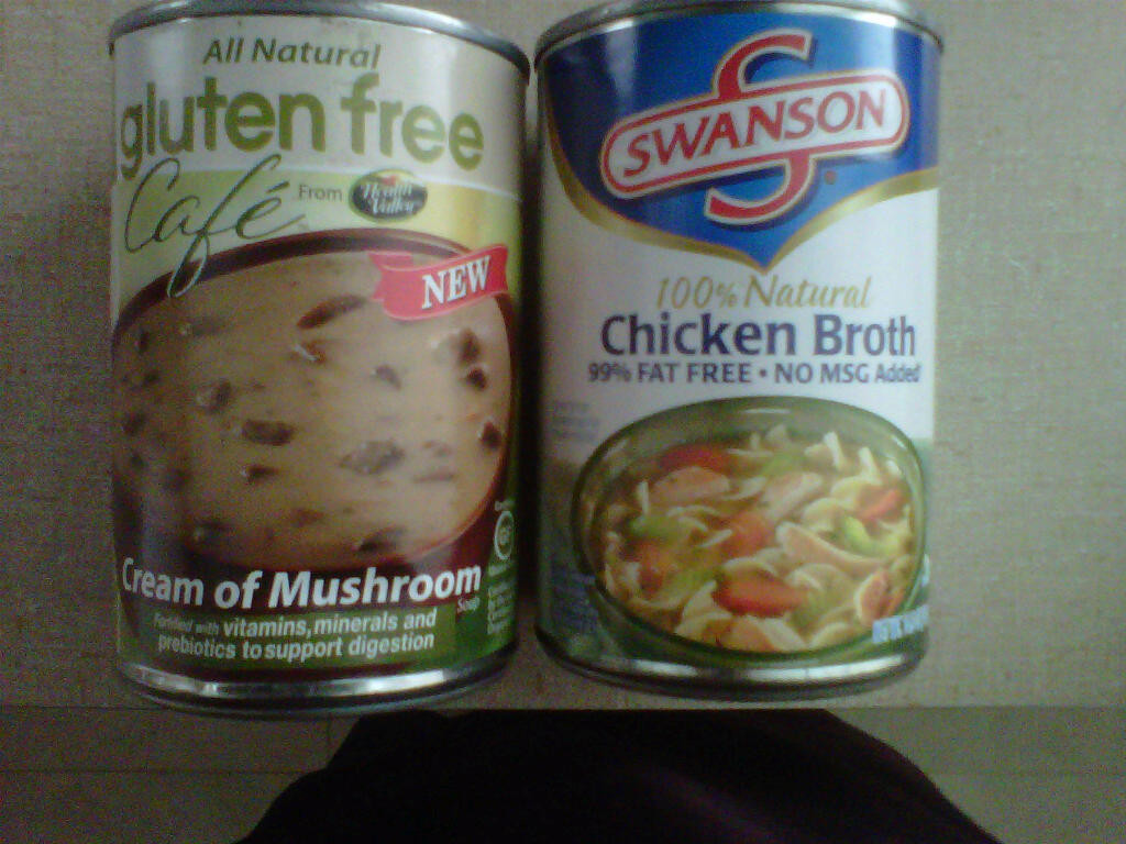 Gluten Free Cream Of Chicken Soup Brands  Gluten Free Thanksgiving Meal Made Easy