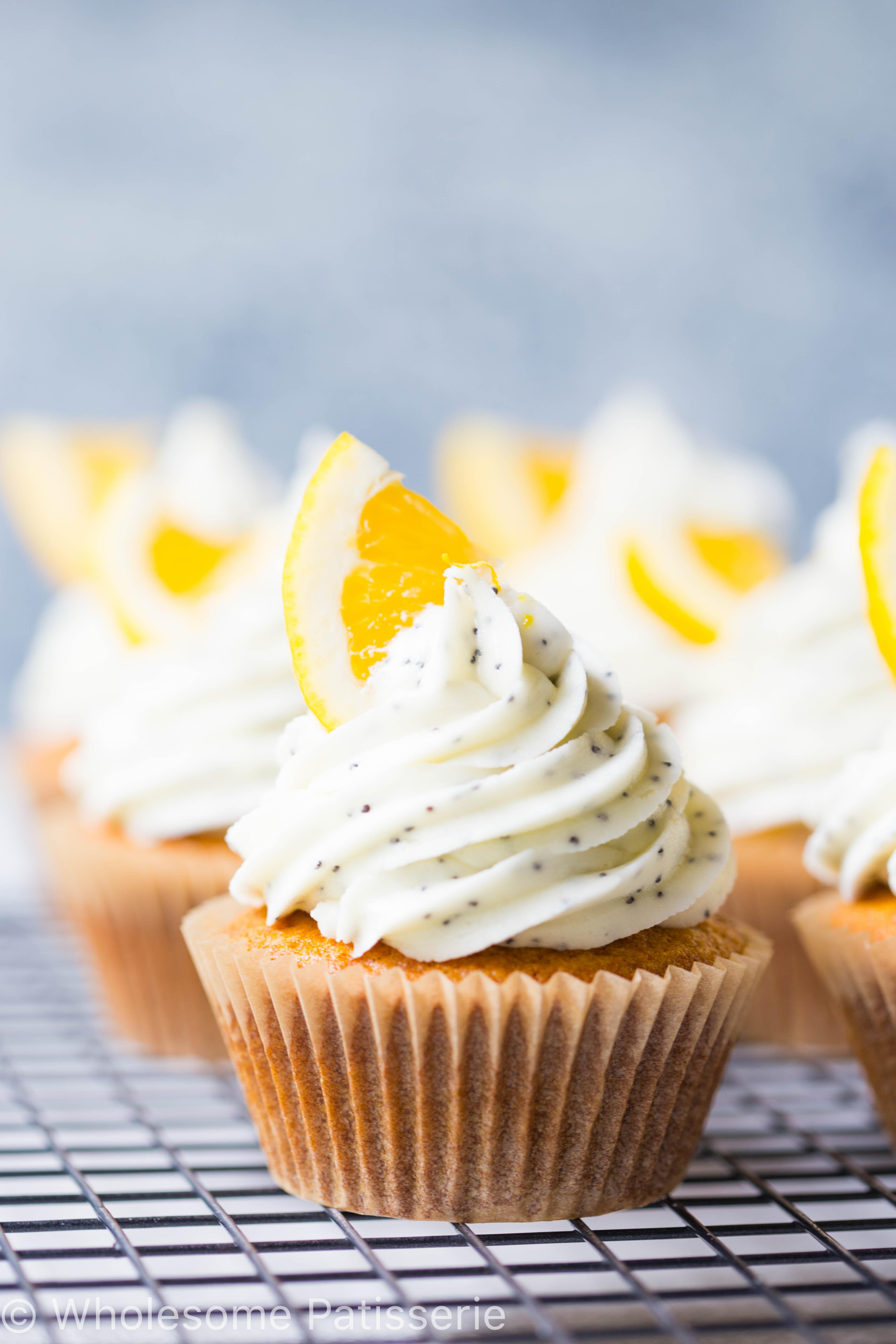 Gluten Free Cupcakes Recipe  Lemon Poppyseed Cupcakes