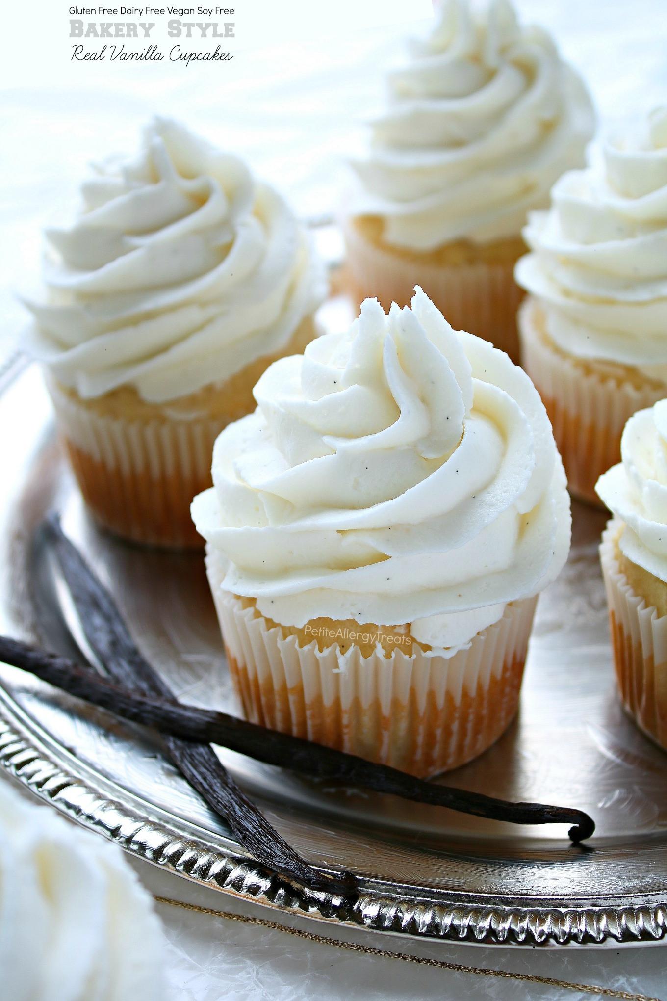 Gluten Free Cupcakes Recipe  Bakery Style Gluten Free Vanilla Cupcakes & Allergy Amulet