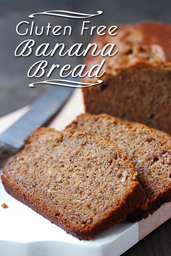 Gluten Free Dairy Free Banana Bread  Gluten Free Banana Bread