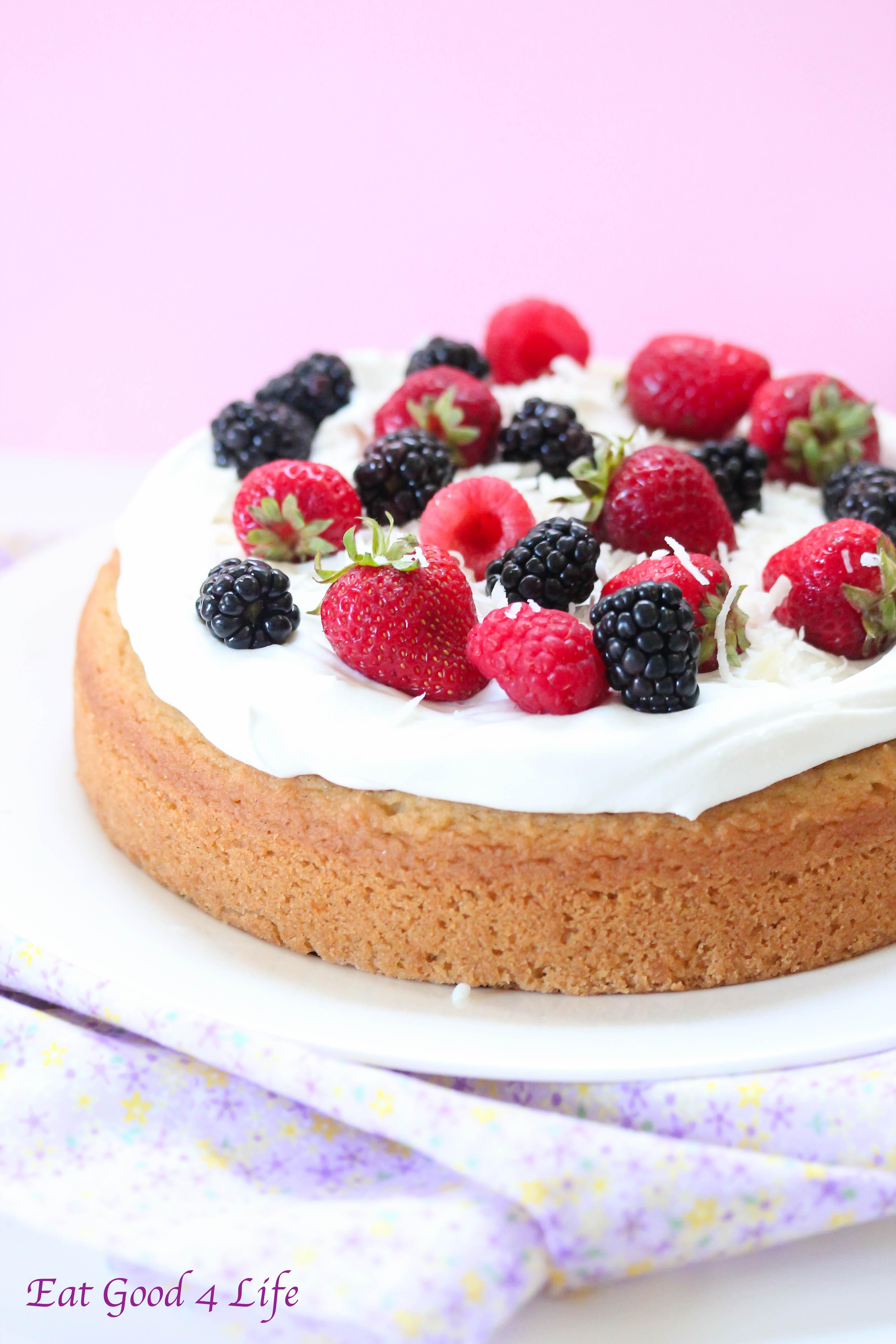 Gluten Free Dairy Free Birthday Cake  Gluten free vanilla cake