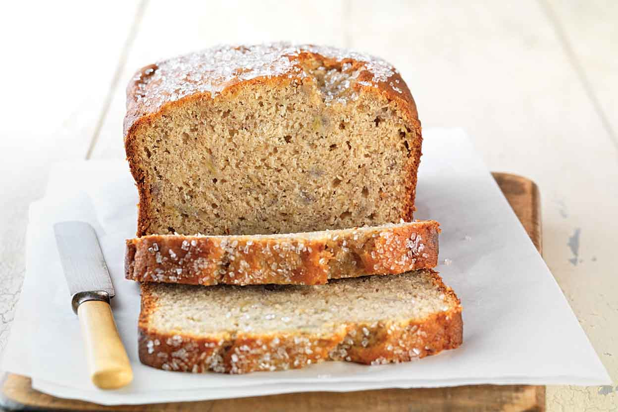Gluten Free Dairy Free Bread  Gluten Free Quick & Easy Banana Bread made with baking mix