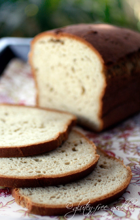 Gluten Free Dairy Free Bread  Gluten Free Goddess Recipes Delicious Gluten Free Bread