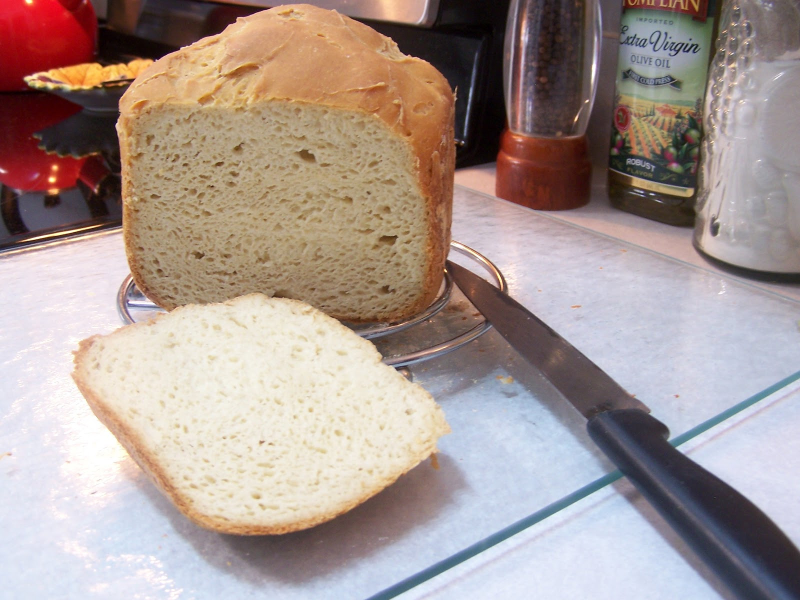 Gluten Free Dairy Free Bread Machine Recipe  Spectacular Gluten Free Bread in the Bread Machine