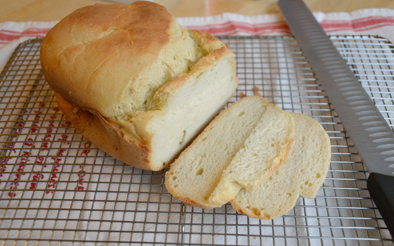 Gluten Free Dairy Free Bread  gluten free bread machine recipe