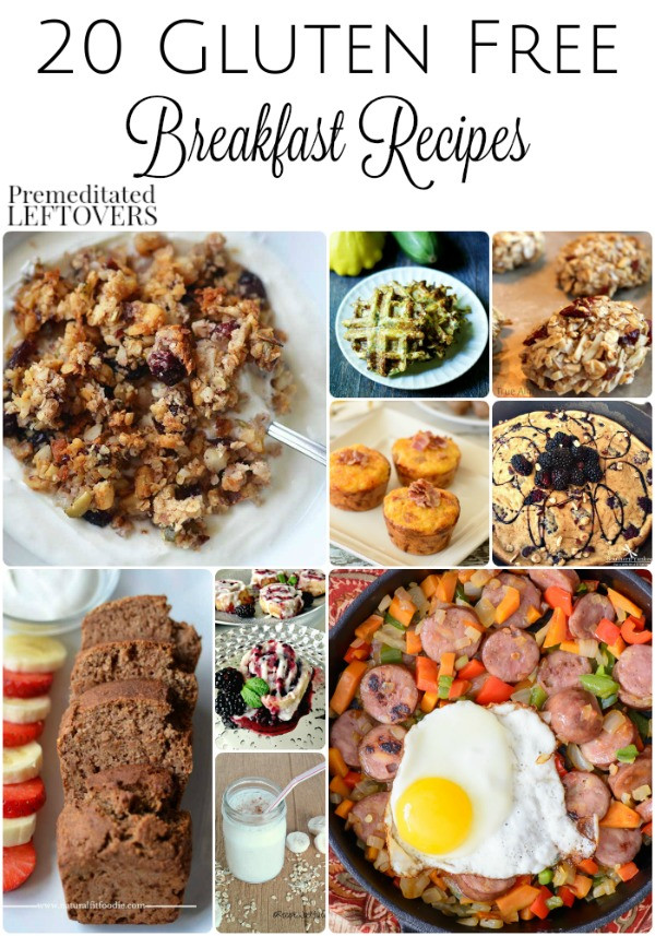 Gluten Free Dairy Free Breakfast Recipes  20 Gluten Free Breakfast Recipes