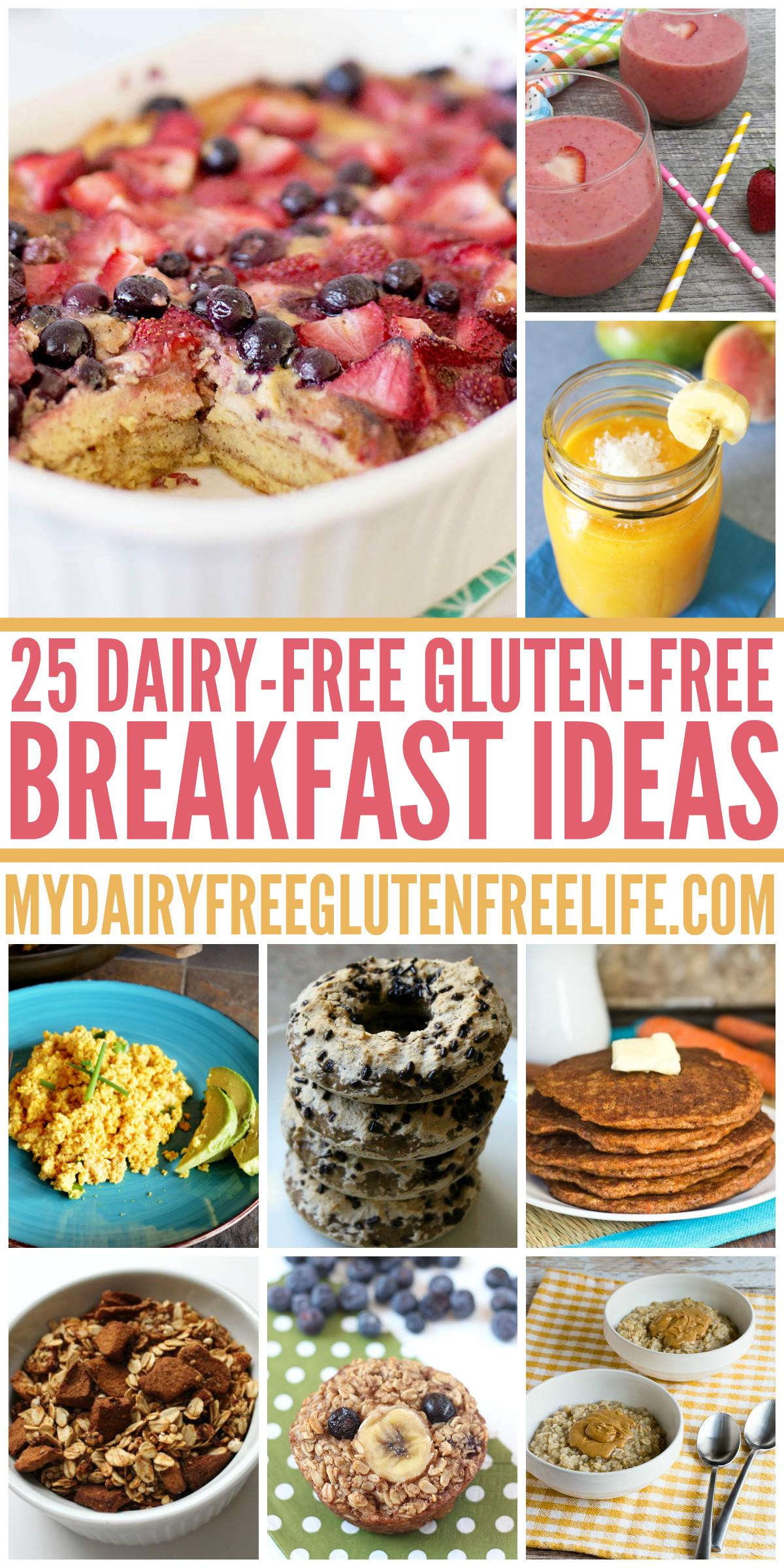 Gluten Free Dairy Free Breakfast Recipes  25 Dairy Free Gluten Free Breakfast Ideas My DairyFree