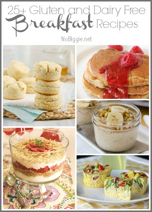 Gluten Free Dairy Free Breakfast Recipes  25 Gluten Free and Dairy Free Breakfast Recipes