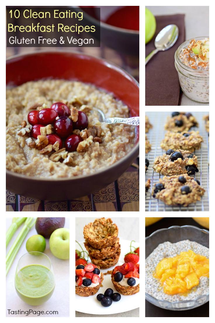Gluten Free Dairy Free Breakfast Recipes  Clean Eating Breakfast Recipes Gluten Free & Vegan
