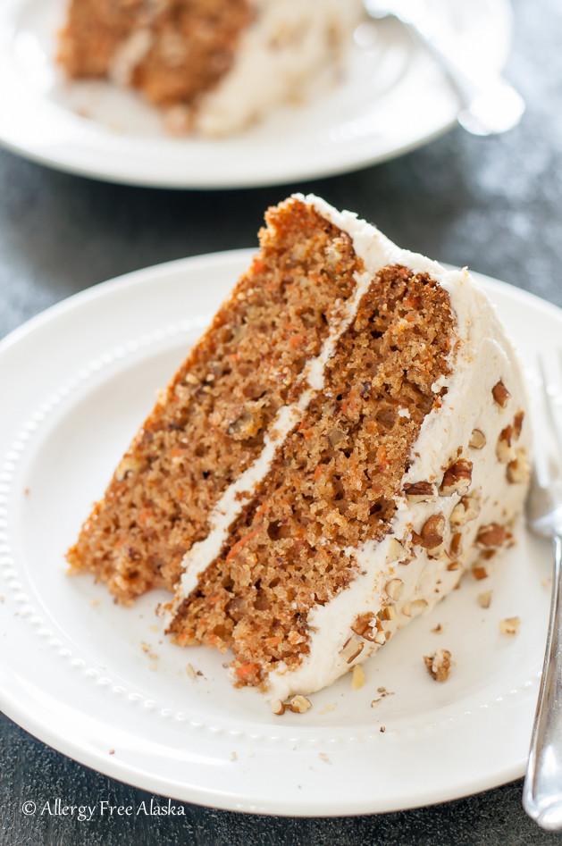 Gluten Free Dairy Free Cake Recipe  Gluten Free Carrot Cake Recipe — Dishmaps