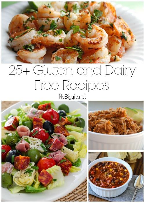 Gluten Free Dairy Free Corn Free Dinner Recipes  25 Gluten Free and Dairy Free Recipes